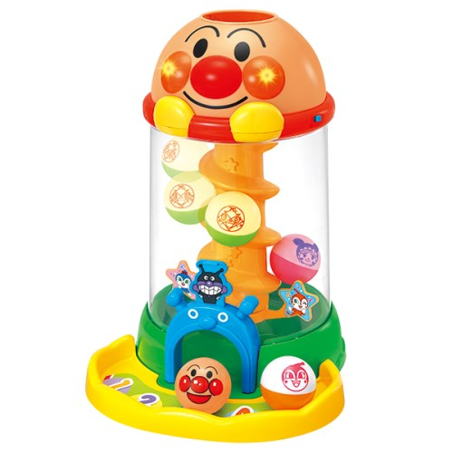 にぎって!おとして!光るくるコロタワー おもちゃ こども 子供 知育 勉強 アンパンマン
