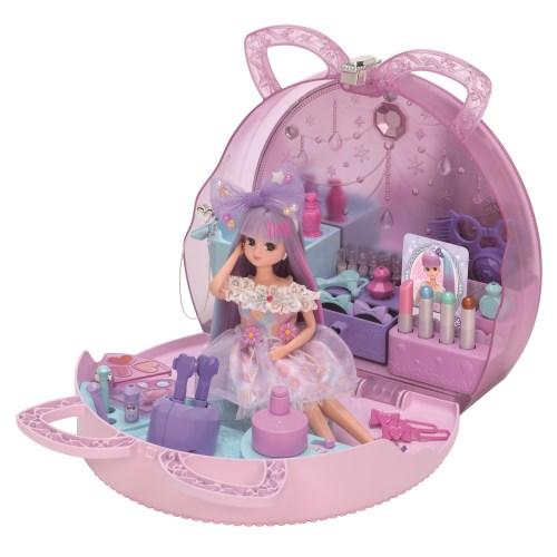 リカちゃん ゆめいろヘアメイクバッグおもちゃ こども 子供 売店 3歳 倉 女の子 小物 人形遊び
