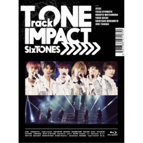 SixTONES/TrackONE -IMPACT- (初回限定) 【Blu-ray】