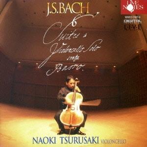 CD-OFFSALE! 津留崎直紀/J.S.バッハ:無伴奏チェロ組曲 全6曲 BWV1007~1012 【CD】