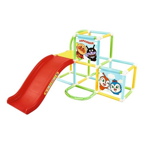アンパンマン うちの子天才カンタン折りたたみ式ジャングルパーク おもちゃ こども 子供 知育 勉強 遊具 室内 2歳