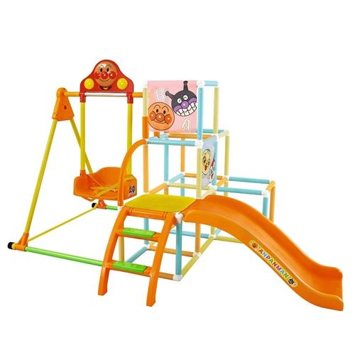 【送料無料】アンパンマン うちの子天才ブランコパークDX ボール付き おもちゃ こども 子供 知育 勉強 遊具 室内 2歳