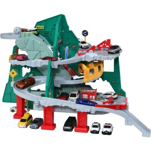 トミカ トンネルくぐって やまのぼりドライブおもちゃ こども 子供 男の子 ミニカー 車 くるま アウトレット お中元