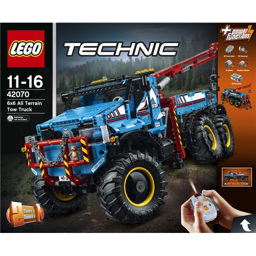 【送料無料】レゴ 42070 テクニック 6×6 全地形マグナムレッカー車 おもちゃ こども 子供 レゴ ブロック 11歳 LEGO