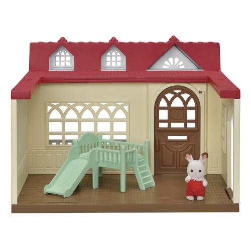 シルバニアファミリー ハ-50 きいちご林のお家おもちゃ こども 営業 子供 女の子 人形遊び お買得 3歳 ハウス