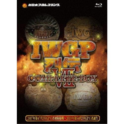 IWGP烈伝COMPLETE-BOX 7 Blu-ray-BOX 【Blu-ray】
