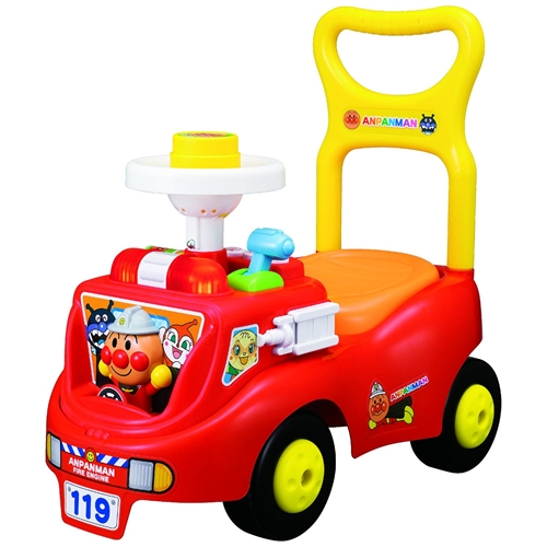 アンパンマン じゃかじゃか消防車  おもちゃ こども 子供 知育 勉強 1歳6ヶ月