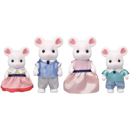 シルバニアファミリー FS-33 マシュマロネズミファミリーおもちゃ こども 子供 女の子 人形遊び 3歳