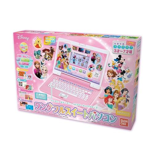 【送料無料】ディズニー&ディズニー ピクサーキャラクターズ ワンダフルスイートパソコン おもちゃ こども 子供 ゲーム 3歳 その他ディズニーキャラ