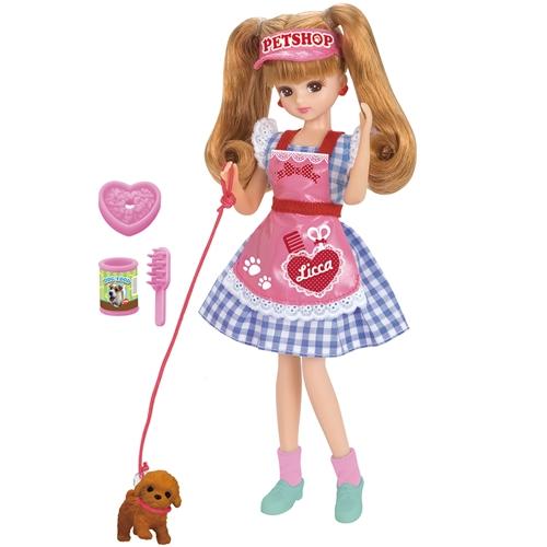 リカちゃん 今だけ限定15%OFFクーポン発行中 LD-11 ペットだいすきトリマー おもちゃ こども 女の子 子供 ランキングTOP5 3歳 人形遊び