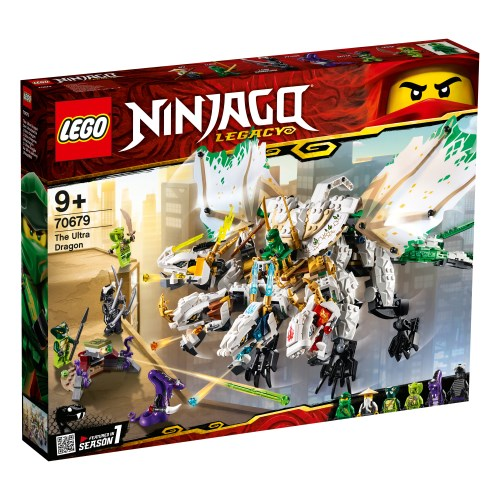 【送料無料】レゴ ニンジャゴー 究極のウルトラ・ドラゴン:アルティメルス 70679 おもちゃ こども 子供 レゴ ブロック 9歳 LEGO