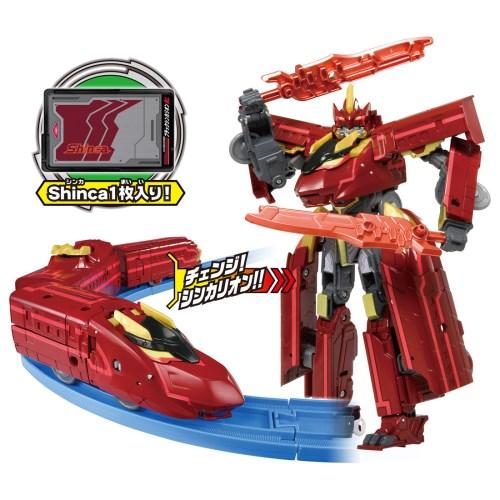 プラレール 新幹線変形ロボ シンカリオン DXS13 ブラックシンカリオン紅 おもちゃ こども 子供 男の子 電車 3歳