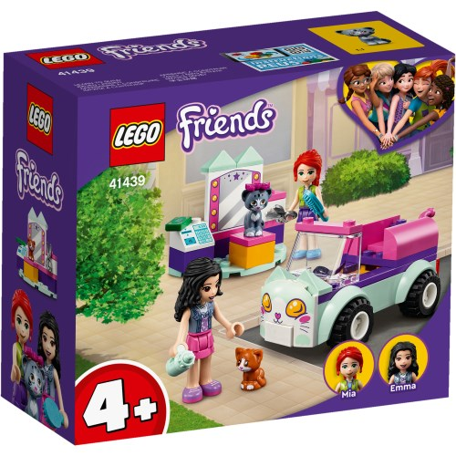 LEGO レゴ 無料サンプルOK 国内即発送 フレンズ ねこのペットサロンカー 41439おもちゃ 子供 こども 4歳 ブロック