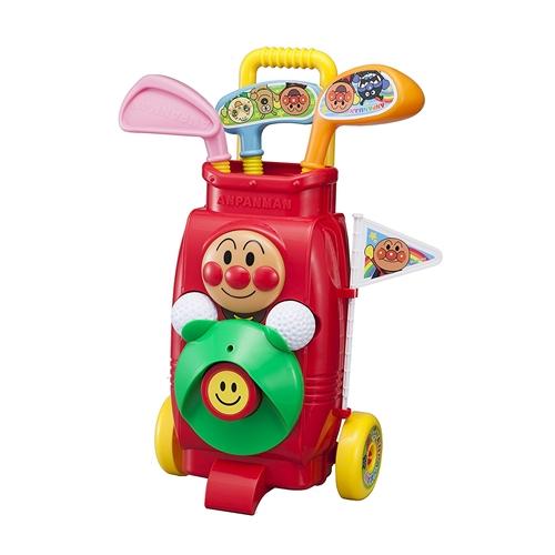 アンパンマン 即日出荷 ゴルフカートセットおもちゃ こども 子供 営業 勉強 3歳 知育