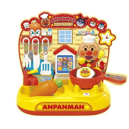 アンパンマン タッチでおしゃべり スマートアンパンマンキッチン 付与 おもちゃ こども 勉強 3歳 知育 引出物 子供