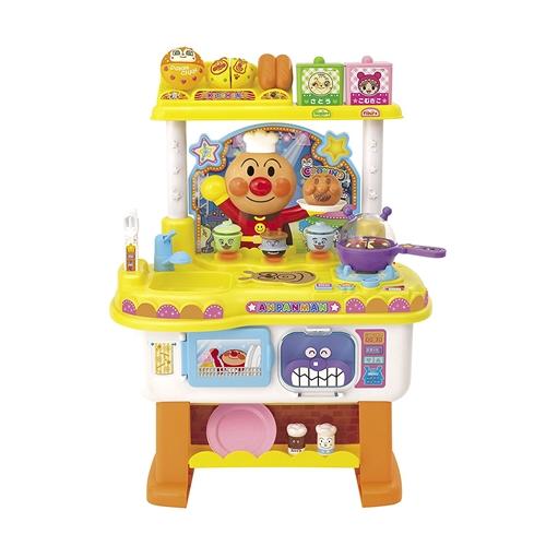格安 価格でご提供いたします アンパンマン 新品■送料無料■ いっしょにトントン アンパンマンのお料理ショー おもちゃ こども 勉強 子供 3歳 知育
