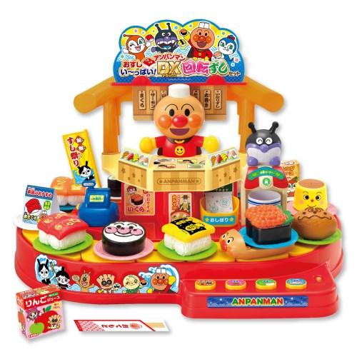 おすしい~っぱい アンパンマンDX回転ずしセットおもちゃ こども 開店記念セール アウトレット 子供 知育 勉強 3歳