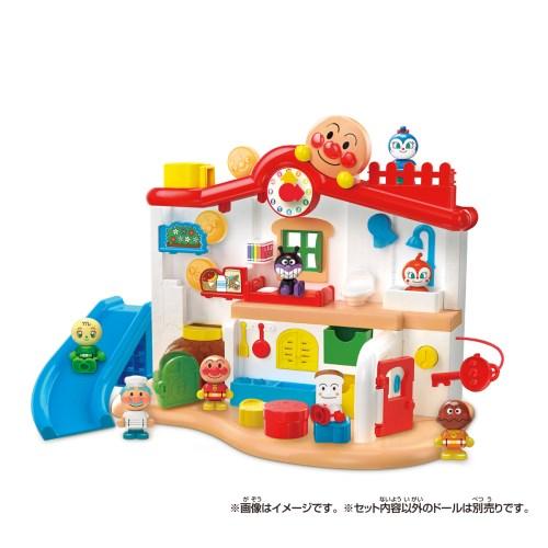 チャイムがピンポン 送料無料激安祭 あそびがいっぱい 爆買いセール アンパンマンはじめてハウスおもちゃ こども 勉強 子供 2歳 知育
