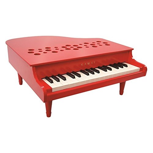 ラッピング対応可◆ミニピアノ P-32(レッド) 1163 クリスマスプレゼント おもちゃ こども 子供 知育 勉強 3歳