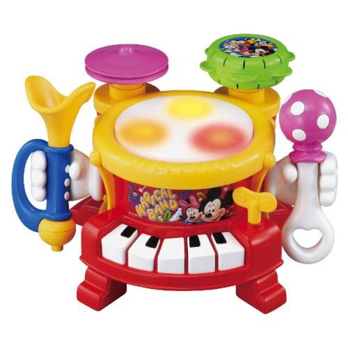 リズムあそびいっぱいマジカルバンド おもちゃ こども 情熱セール 子供 知育 1歳 その他ディズニーキャラ 受賞店 勉強