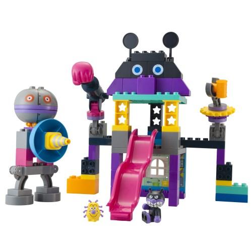 ブロックラボ バイキンじょうもつくれる だだんだんブロックバケツおもちゃ こども 子供 勉強 アンパンマン 贈り物 知育 3歳 メーカー在庫限り品