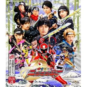 手裏剣戦隊ニンニンジャー Blu-ray COLLECTION 4[完] 【Blu-ray】