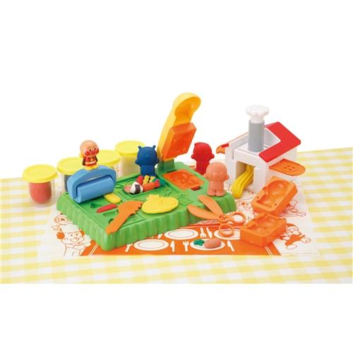 メーカー公式 アンパンマン ねんどでわくわくパンこうじょうセット おもちゃ こども 予約 知育 3歳 子供 勉強