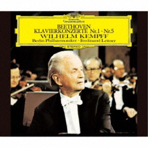 ヴィルヘルム・ケンプ/ベートーヴェン:ピアノ協奏曲全集 (初回限定) 【CD】