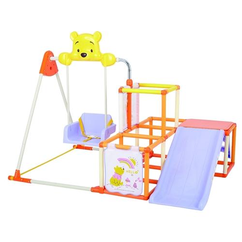 くまのプーさんおりたたみキッズパークEX クリスマスプレゼント おもちゃ こども 子供 知育 勉強 遊具 室内 2歳