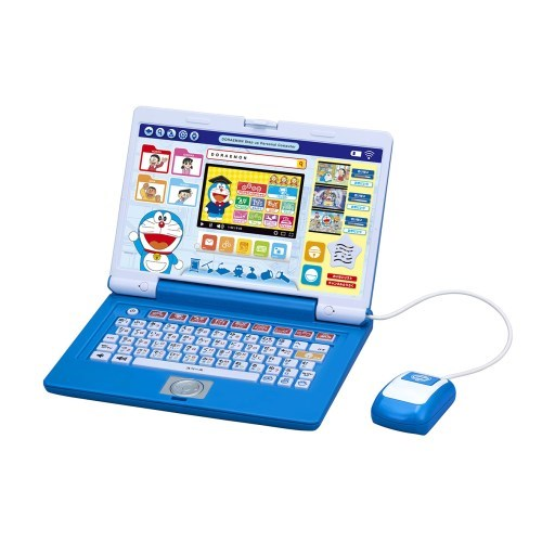 【送料無料】ドラえもん ドラえもんステップアップパソコン おもちゃ こども 子供 知育 勉強 3歳