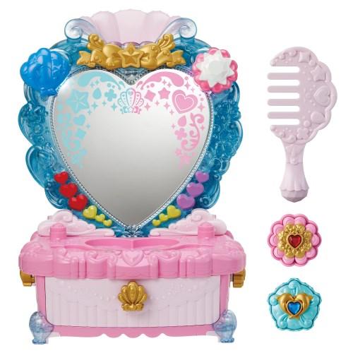 トロピカル~ジュ プリキュア パワーアップ変身 トロピカルハートドレッサーおもちゃ 3歳 ギフト プレゼント ご褒美 こども 子供 新生活 女の子