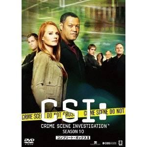 【送料無料】CSI:科学捜査班 シーズン10 コンプリートDVD BOX-II 【DVD】