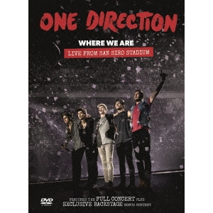 One Direction 世界の人気ブランド ホエア ウィー アー' ライブ サンシーロ スタジアム DVD フロム 正規品送料無料