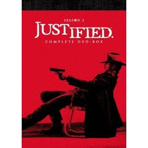 JUSTIFIED 俺の正義 シーズン3 コンプリートDVD-BOX 【DVD】