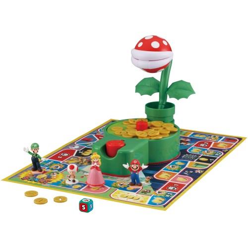 スーパーマリオ 当店は最高な サービスを提供します かみつき注意 安心と信頼 パックンフラワーゲーム おもちゃ こども 子供 4歳 スーパーマリオブラザーズ パーティ ゲーム