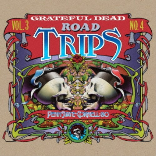 グレイトフル・デッド/ロード・トリップ VOL.3 NO.4 ペンシルベニア/コーネル '80 【CD】