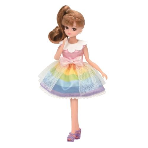 割引も実施中 リカちゃん LW-01 レインボーファンタジーおもちゃ アウトレット☆送料無料 こども 子供 洋服 女の子 3歳 人形遊び