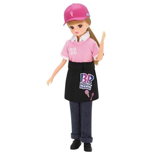 リカちゃん サーティワン アイスクリームショップ てんいんさんドレス おもちゃ こども お買得 3歳 女の子 子供 洋服 価格 交渉 送料無料 人形遊び