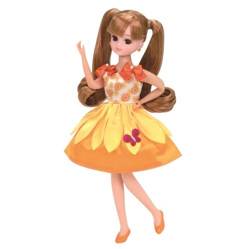 リカちゃん LW-03 サニーフラワーおもちゃ こども 子供 人形遊び 3歳 洋服 当店は最高な サービスを提供します 女の子 入手困難