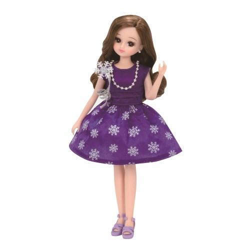 大好評です セール特価 リカちゃん LW-04 スノーバイオレットおもちゃ こども 子供 人形遊び 女の子 3歳 洋服