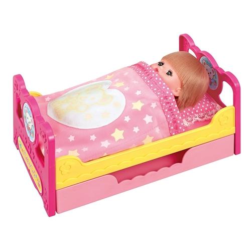 メルちゃん なかよしパーツ おかたづけもできちゃう 物品 いっしょにおねんねベッド おもちゃ こども 2020春夏新作 子供 小物 女の子 1歳6ヶ月 人形遊び
