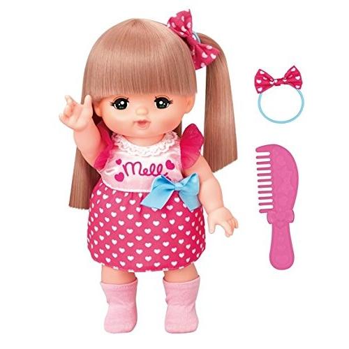 おしゃれヘアメルちゃん 当店一番人気 セール価格 NEW おもちゃ こども 人形遊び 女の子 3歳 子供