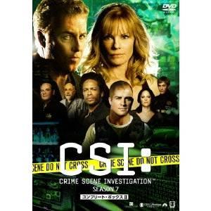CSI:科学捜査班 シーズン7 コンプリートDVD BOX-2 【DVD】