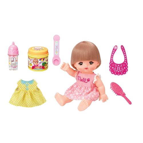 メルちゃん 日本 おしょくじ おせわセット 人形付きセット おもちゃ 人気ブレゼント 子供 女の子 人形遊び こども 8歳