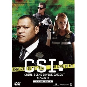 CSI:科学捜査班 シーズン11 コンプリートDVD BOX-I 【DVD】