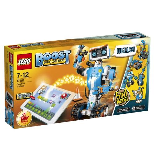 【送料無料】LEGO 17101 ブースト クリエイティブ・ボックス おもちゃ こども 子供 レゴ ブロック 7歳