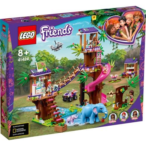 LEGO レゴ フレンズ フレンズのジャングルレスキュー基地 41424おもちゃ こども 子供 レゴ ブロック 8歳