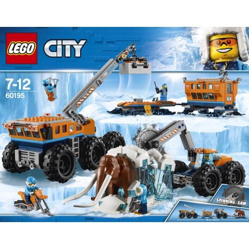 【送料無料】LEGO 60195 シティ 北極探検基地 おもちゃ こども 子供 レゴ ブロック 7歳