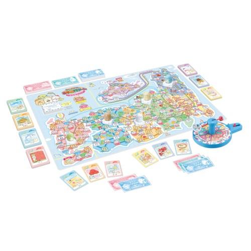 値引き すみっコぐらし 日本旅行ゲーム おへやのすみでたびきぶんおもちゃ こども ゲーム 5歳 驚きの値段で パーティ 子供
