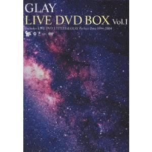 GLAY LIVE DVD vol.1 【DVD】